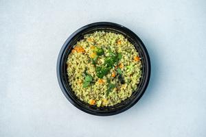 Drivu Veg Green Curry In Organic Quiona