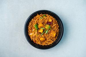 Drivu Tofu Hot Garlic Brown Rice