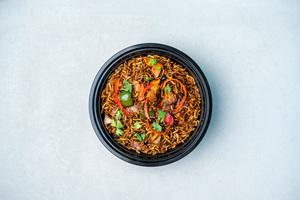 Drivu Sea Bass Black Bean Rice