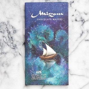 Drivu 62% Dark Chocolate with Coffee & Cardamom