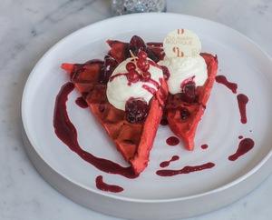 Drivu Red Velvet Waffle