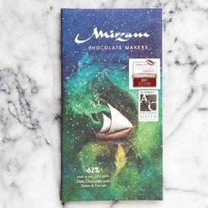 Drivu 62% Dark Chocolate with Dates & Fennel