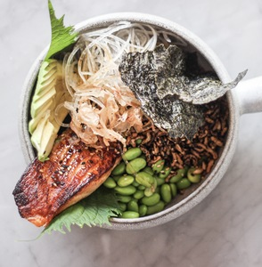 Drivu Salmon Bowl