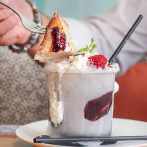 Drivu French Toast Milkshake