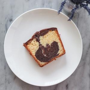 Drivu Vanilla Chocolate Marbled Cake