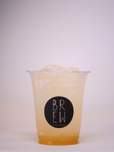 Drivu Peach Sparkling Drink