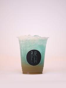 Drivu Blue Lime Sparkling Drink