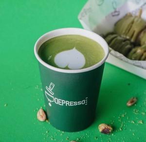 Drivu Hot Matcha Latte