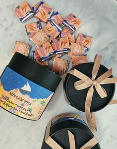 Drivu Box of 35 Bites - 72% Dark Chocolate Single Origin Tanzania