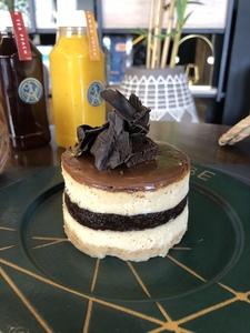 Drivu Brownie Cheesecake