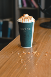 Drivu Iced Toffee Crunch Latte