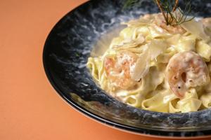 Drivu Shrimp Fettuccine Pasta
