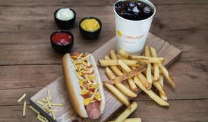 Drivu Classic Hotdog Meal