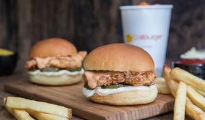 Drivu Crispy Chicken Slider Meal