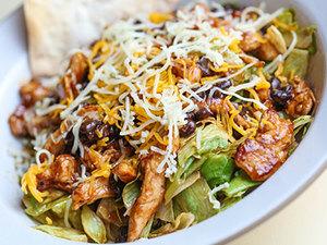 Drivu Chopped BBQ Salad