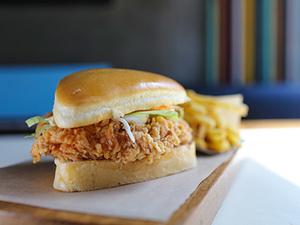 Drivu Chicken Fillet Burger