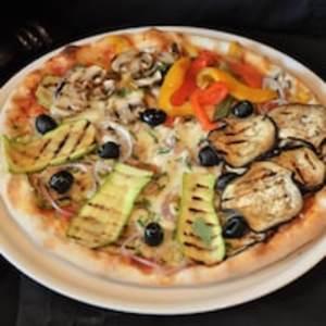 Drivu Vegetariana Pizza