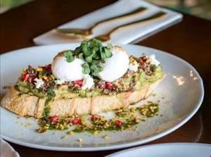 Drivu Chermoula Avocado Toast