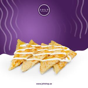 Drivu Msemen with Cheese
