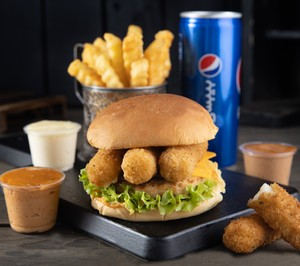 Drivu Mozzarella Burger  موزاريلا برجر