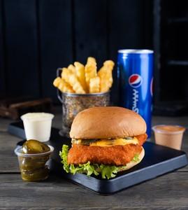 Drivu Buffalo Burger برجر بافالو