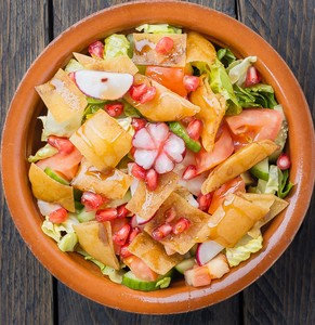 Drivu Fatoush Salad سلطة فتوش