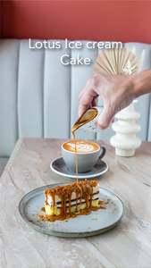 Drivu Lotus Ice Cream Cake