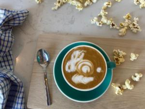 Drivu Popcorn Latte Hot
