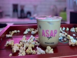 Drivu Popcorn Latte cold
