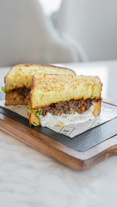 Drivu BBQ Pulled Beef Sandwich