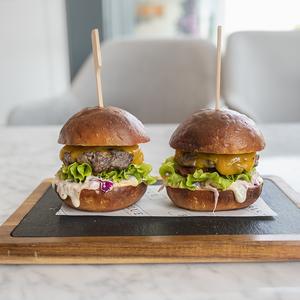 Drivu Cheese Burger Sliders