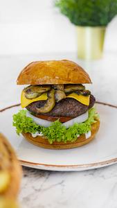 Drivu Blue Burger
