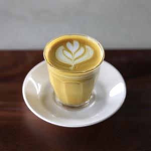 Drivu Hot Saffron Latte
