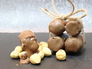 Drivu 500g Biscuit Roll Filled with Hazelnut Cream