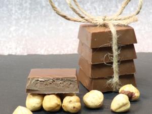 Drivu 500g Milk Chocolate with Hazelnut Cream