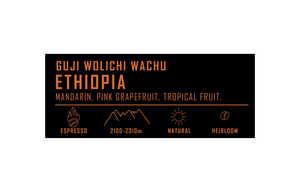 Drivu Ethiopia Wolichi Wachu 500g