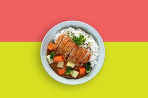 Drivu Shrimp Katsu Curry
