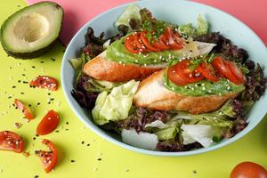 Drivu Avocado Toast Salad