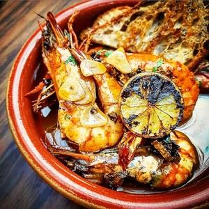 Drivu Chipotle Butter Shrimp