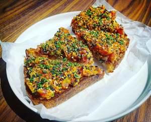 Drivu Spicy Tuna Toast