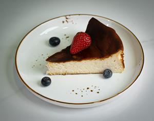 Drivu San Sebastian Cake Slice