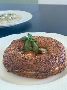 Drivu Simit Pesto Mozzarella