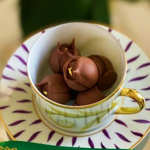 Drivu LT Chocolate Volcano Balls (3 pieces)