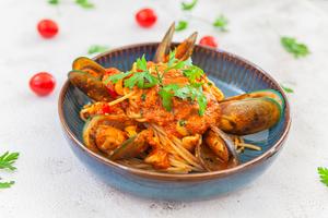 Drivu Spaghetti Seafood