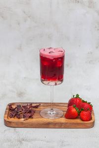 Drivu Strawberry Hibiscus Iced Tea