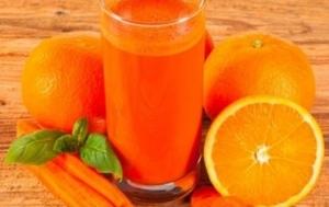 Drivu Orange with Carrot Juice عصير برتقال مع جزر