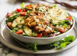 Drivu Shawarma Salad سلطة شاورما
