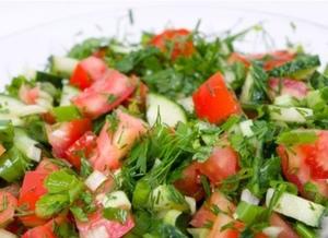 Drivu Arabic Salad سلطة عربية