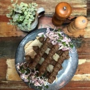 Drivu Meat Kebab Meal وجبة كباب لحم
