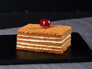 Drivu Honey Cake Slice